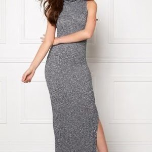 ONLY Axel L/S Long Dress Light Grey Melange