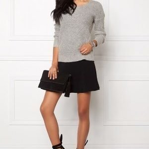ONLY Bretagne L/S Pullover Light Grey Melange