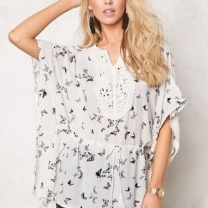 ONLY Delta Kaftan Cloud Dancer1