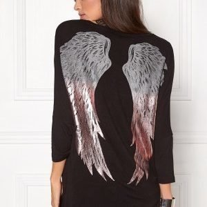 ONLY Denni Mix Foil Wings Black