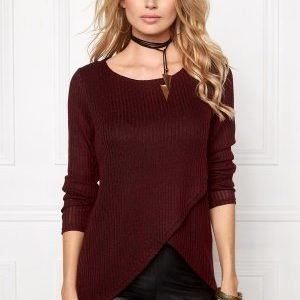ONLY Dhaka L/S Twist Pullover Syrah
