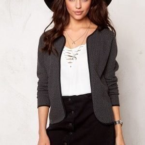 ONLY Diamond l/s cardigan Dark Grey