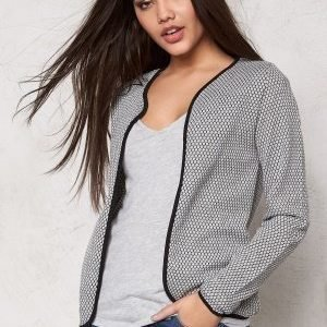 ONLY Diamond l/s cardigan Light Grey Melange