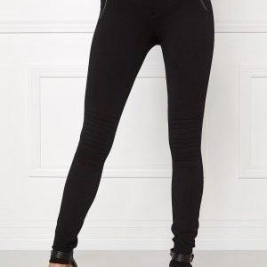ONLY Evie Biker Leggings Black
