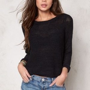 ONLY Geena L/S Pullover Black