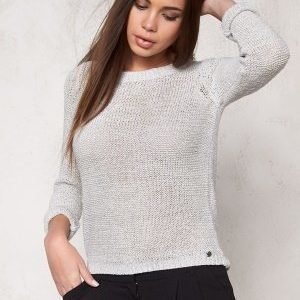 ONLY Geeny L/S Pullover Light Grey Melange
