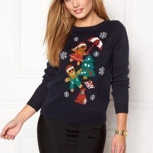 ONLY Gingertree L/S Pullover Night Sky