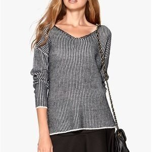 ONLY Giselle L/S Pullover Light Grey Melange