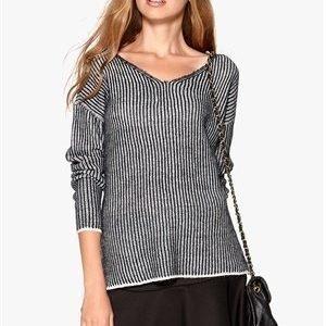 ONLY Giselle L/S Pullover Light Grey Melange