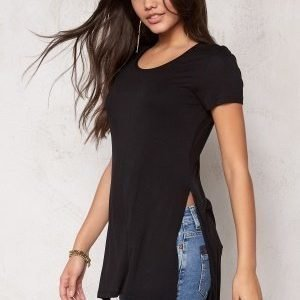 ONLY Jewel ss Long Top Black