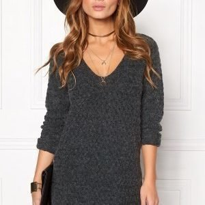 ONLY Lima L/S V-Neck Pullover Scarab