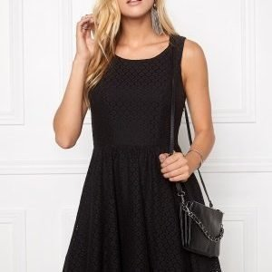 ONLY Line fairy lace dress Black