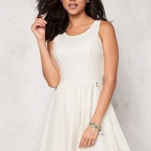 ONLY Line fairy lace dress Whisper White