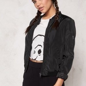 ONLY Linea Nylon Short Jacket Black