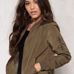 ONLY Linea Nylon Short Jacket Tarmac