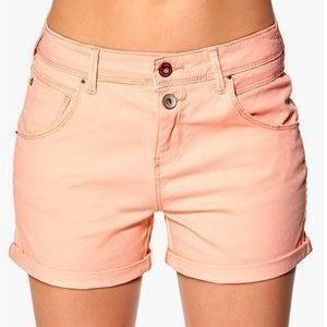 ONLY Lise Antifit Shorts Pale Neon Orange