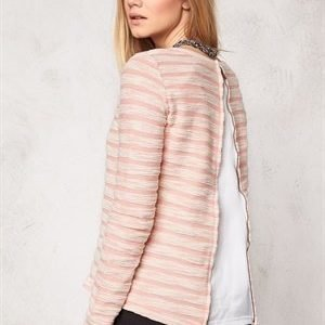 ONLY Naomi L/S Sweater Burnt Coral