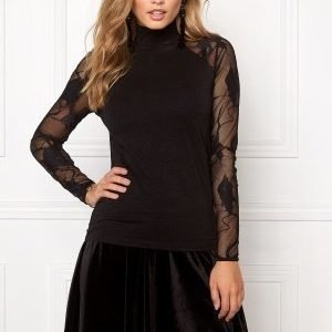 ONLY New Cinderella L/S Top Black