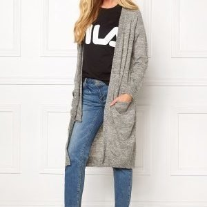 ONLY New Hayley L/S Cardigan Light Grey Melange