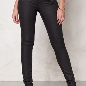 ONLY New Olivia Coated Pants Black