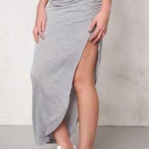 ONLY New Ria Skirt Light Grey Melange
