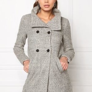 ONLY New Sophia Wool Coat Light Grey Melange