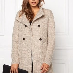 ONLY New Sophia Wool Coat Simply Taupe