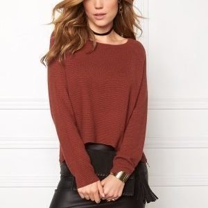ONLY New Tessa Zip Pullover Henna