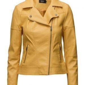 ONLY Onlcara Faux Leather Biker Jacket Cc Otw nahkatakki