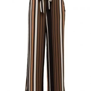 ONLY Onlnova Lux Stripe Palazzo Pants Wvn leveälahkeiset housut