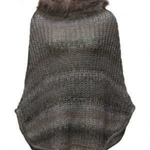 ONLY Onlsonia Fake Fur Poncho Acc