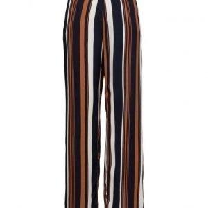 ONLY Onlstrix Stripe Pants Wvn leveälahkeiset housut