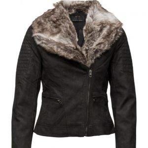 ONLY Onltrust Faux Leather Biker Jacket Otw nahkatakki