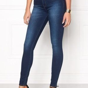 ONLY Piper HW Skinny Jeans Medium Blue Denim