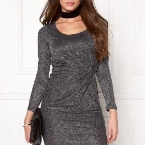 ONLY Ramona L/S Knot Dress Black 1
