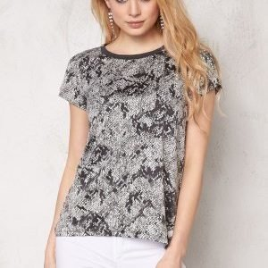 ONLY Rimi s/s Mono Top Gray Violet