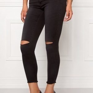 ONLY Royal Reg Ankle Jeans Dark Grey Denim
