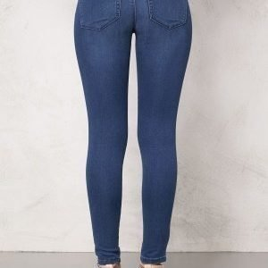 ONLY Royal Skinny Jeans Medium Blue Denim