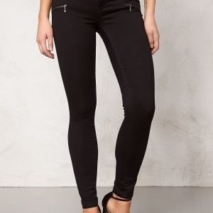 ONLY Royal Skinny Zip Jeans Black