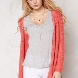 ONLY Sia l/s open cardigan Rose of Sharon