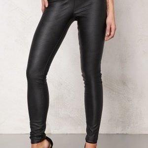 ONLY Simple Jane Pu Leggings Black