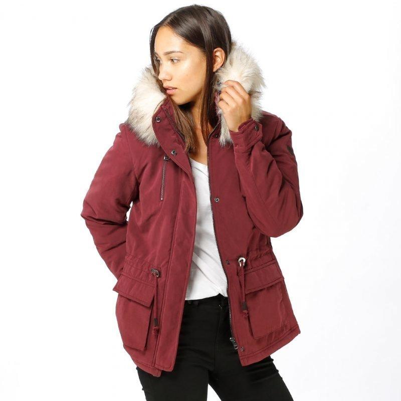 ONLY Starlight Fur Parka -takki