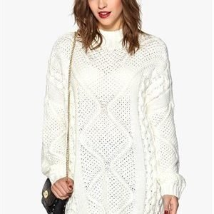 ONLY Stella Highneck Knit Cloud Dancer