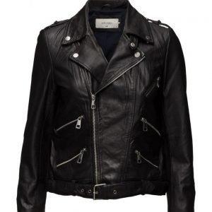 ONLY Sturock L/S Short Leather Jacket nahkatakki