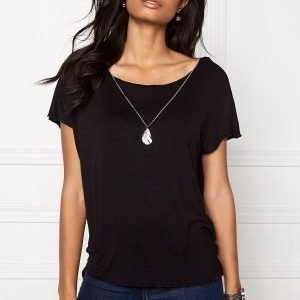 ONLY Sylvia S/S Top Black
