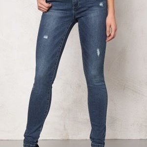 ONLY Ultimate Skinny Jeans Medium Blue Denim