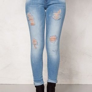 ONLY Ultimate reg jeans Light Blue Denim