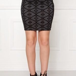 ONLY Viggy Skirt Ess Black