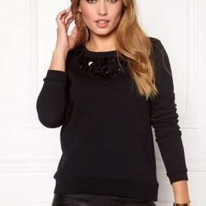 ONLY Wilma L/S ONeck Black