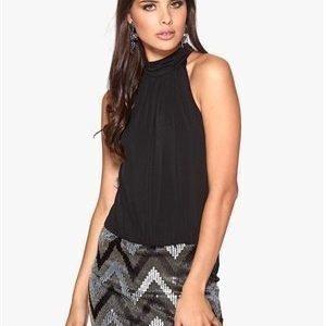 ONLY Zigzag S/L Dress Black